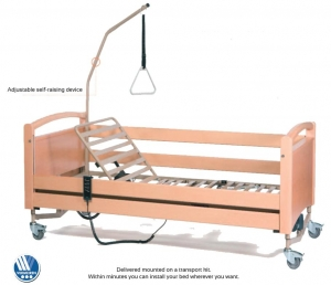The Luna Deluxe Clinical Bed